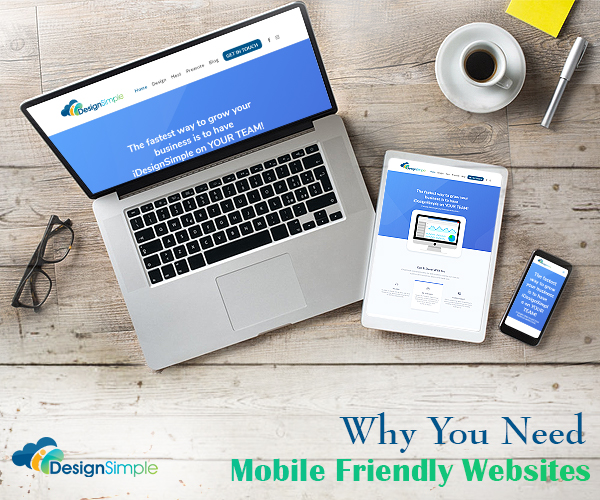 4 Reasons why you need a mobile friendly website
